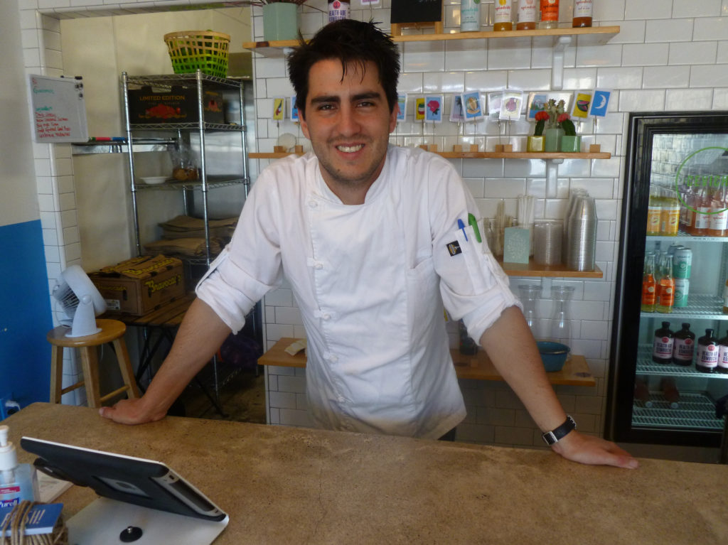 Juan Carlos Recamier is executive chef at Ceviche House in North Park.