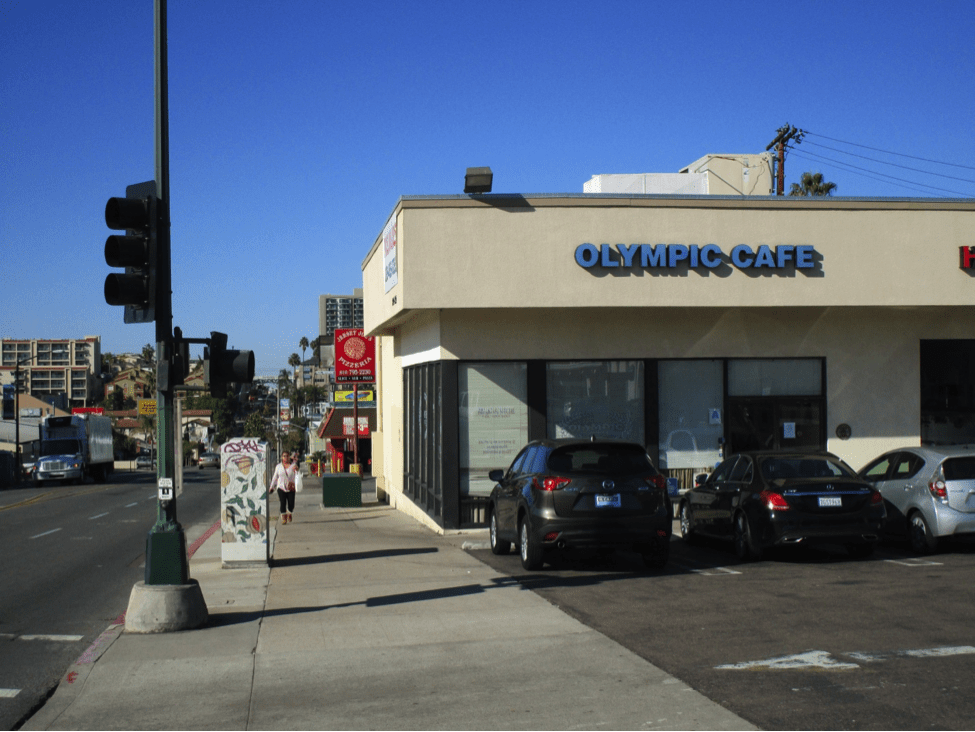 Olympic Caf Will Move From Its Current Corner Location At Texas Street And University Avenue By