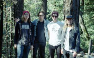 The Lulls hanging out in Big Sur (Photo by Brennen Cunningham)