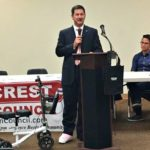 New councilmember speaks to Hillcrest Town Council