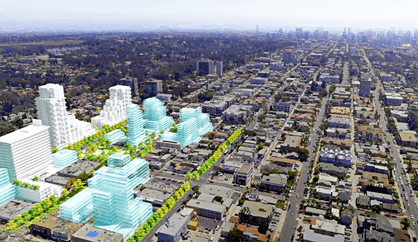 If The Uptown Gateway District Project Ever Goes Forward Hillcrest Will Be Transformed Dramatically As This Image Illustrates View Is Looking South