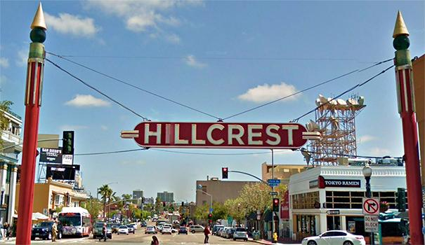 Hillcrest sign-Google Maps copy – San Diego Uptown News