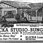 Klicka's 'Studio Bungalo' provided affordable housing in 1930s