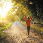 Walk toward a healthier year